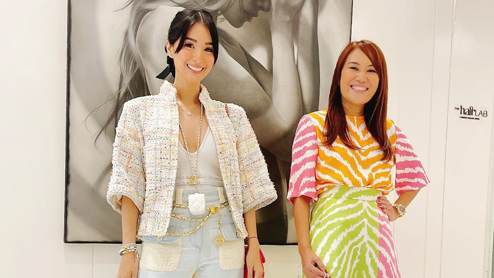 Heart Evangelista's Casual OOTD at the Derma Costs Over Half a Million Pesos