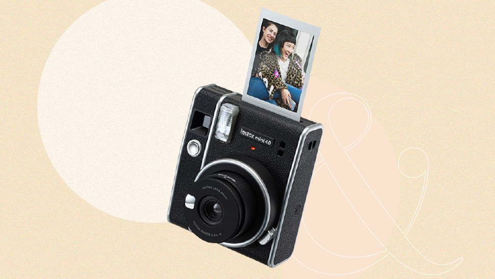 You'll Love The New Instax Mini 40 Camera's Cool Retro Aesthetic