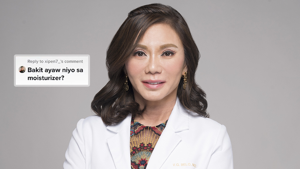 This Is the Real Reason Dr. Vicki Belo Is Against Using Moisturizer