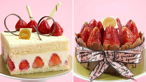 These Pretty Strawberry Cakes Are Perfect For Your Mother's Day Spread