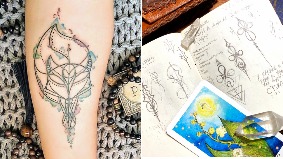 This Artist Transforms Your Life Story Into Personalized Symbols You Can Get Tattooed