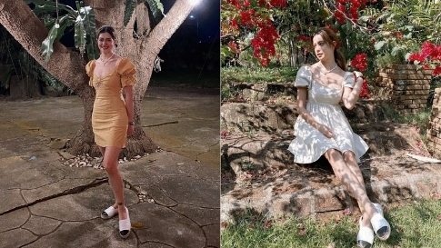 5 Dainty Dress Outfits We're Stealing From Sue Ramirez