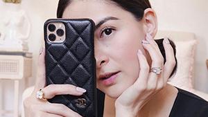Marian Rivera's Chic Designer Phone Case Costs Almost P50,000