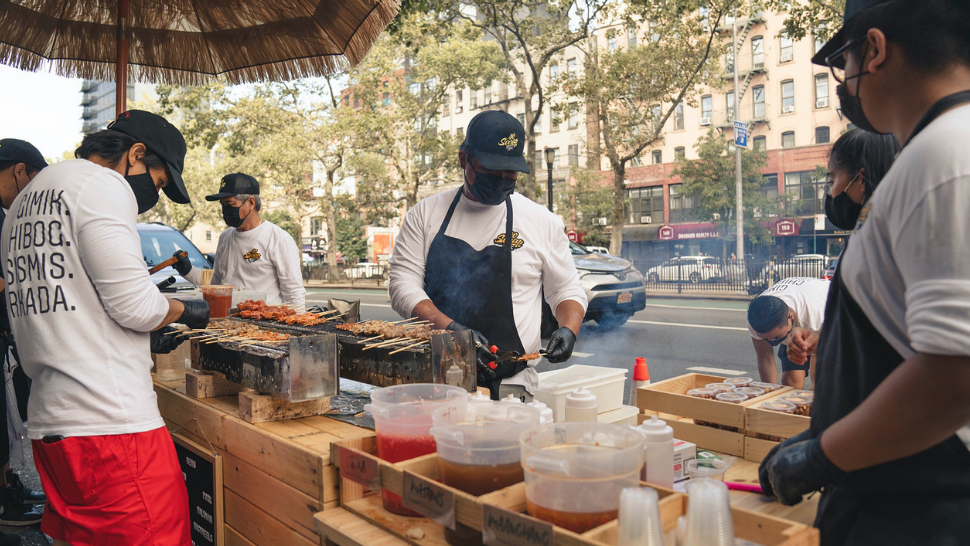 These Filipinos Are Going Viral for Selling Pinoy Street Food in New York