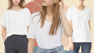 10 Stylish Loose White T-shirts You Need In Your Closet Right Now