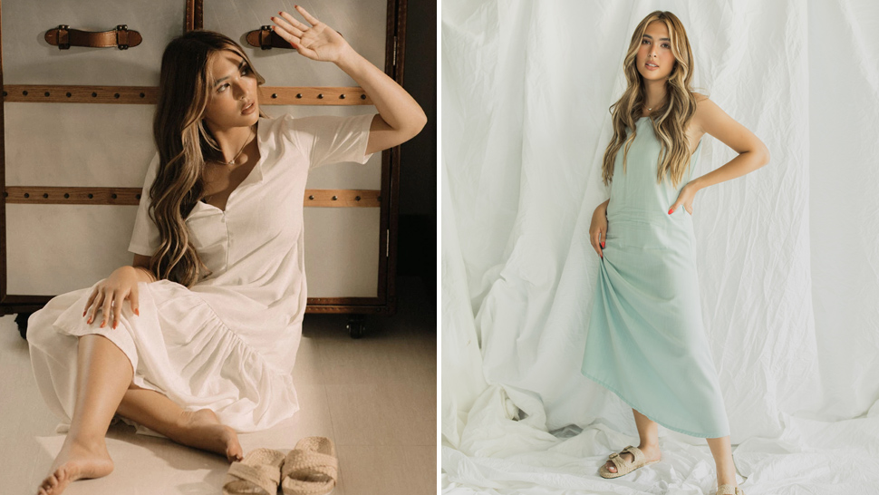 Sofia Andres Just Designed a Loungewear Collection and It's Perfect for Summer