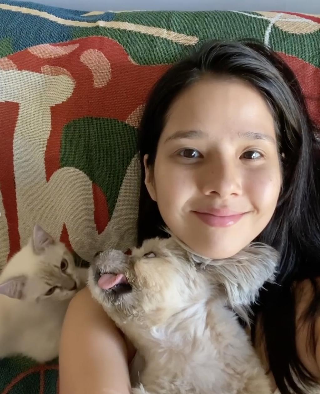 maxene magalona lockdown mental health