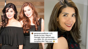 Geneva Cruz Shuts Down A Comment That Called Her The