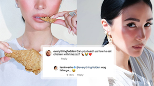 """Netizens Are Losing It Over Heart Evangelista Eating Chicken In An """"expensive Way"""""""