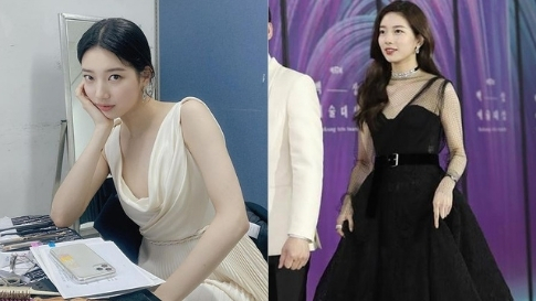 All Of Bae Suzy's Red Carpet Outfits From Baeksang Arts Awards Over The Years