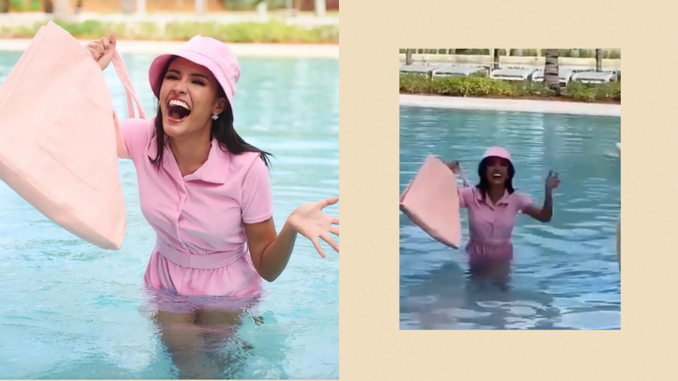Rabiya Mateo Fell Into A Pool During A Miss Universe Photoshoot And Handled It Like A Total Pro
