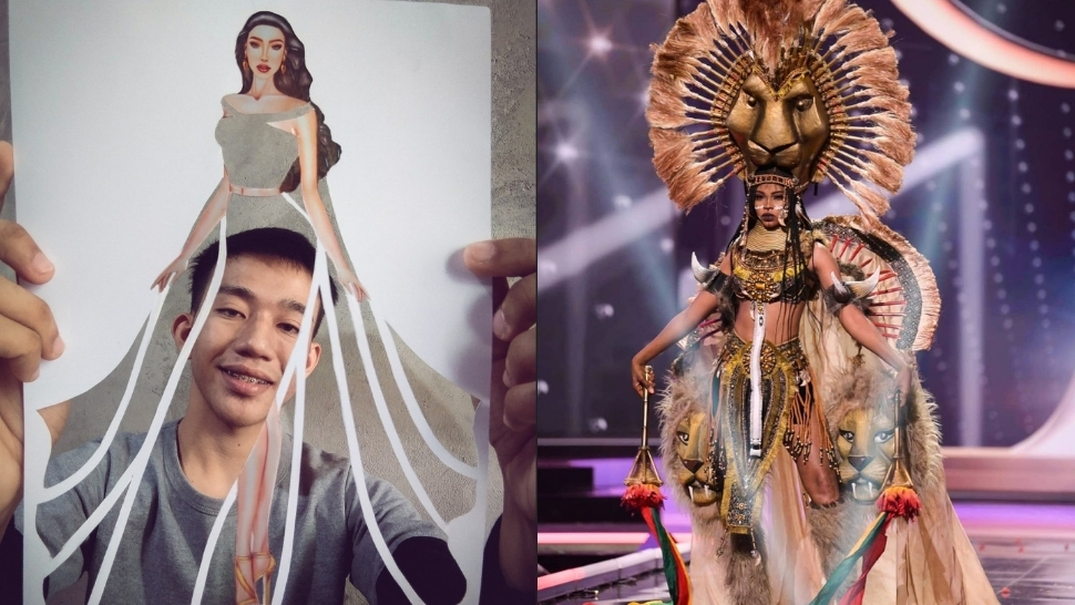 Did You Know? A 21-year-old Pinoy Student Designed Miss Universe Cameroon's National Costume
