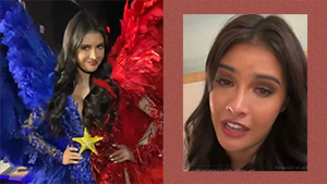 Rabiya Mateo Breaks Down Crying On Ig Live After Miss Universe National Costume Competition