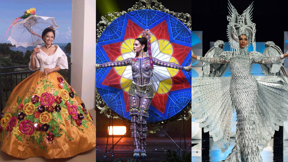 10 Most Memorable National Costumes Worn By Miss Universe Philippines So Far