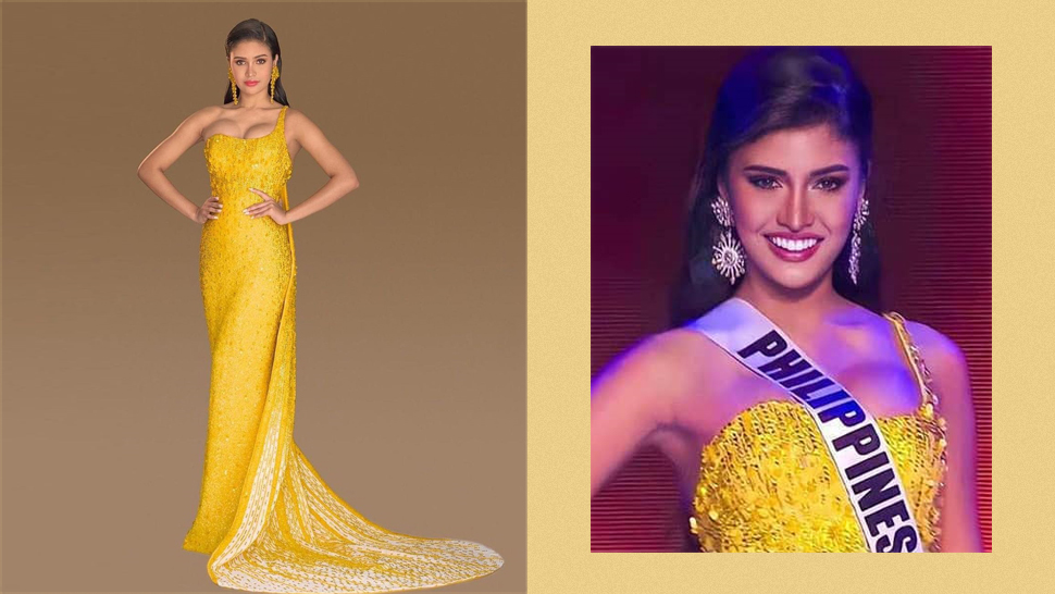 The Real Meaning Behind Rabiya Mateo's Yellow Evening Gown For Miss Universe