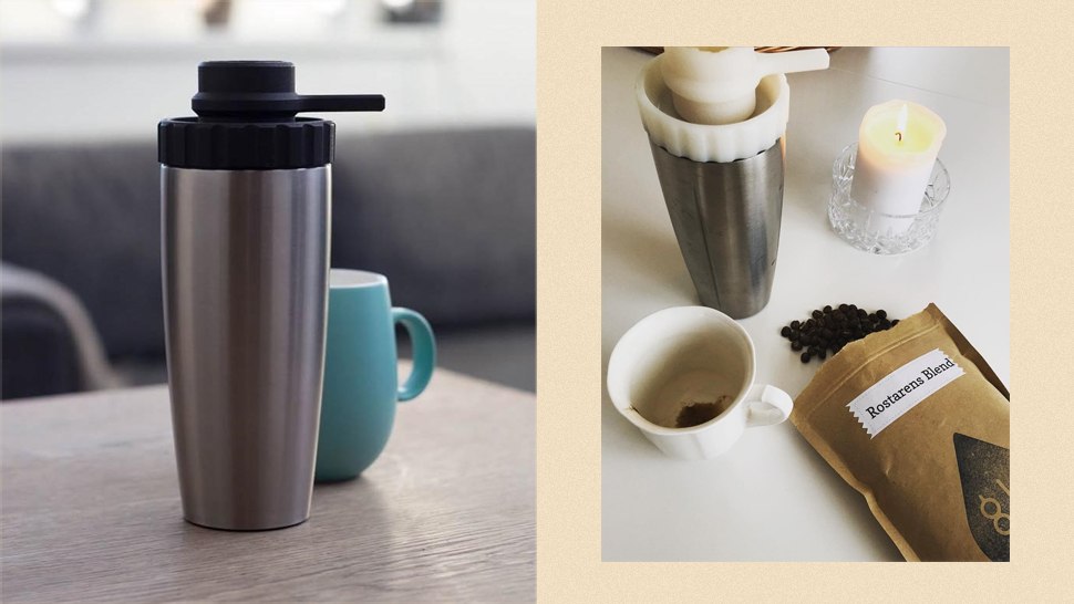 This Sleek Compact Coffee Maker Can Make Espresso-level Brews On The Go