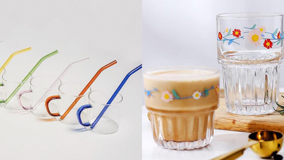 10 Aesthetic Korean-style Glassware That Will Instantly Level Up Your Coffee Pics