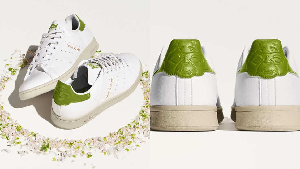 The Star of These Adidas Stan Smith Sneakers, Master Yoda Is