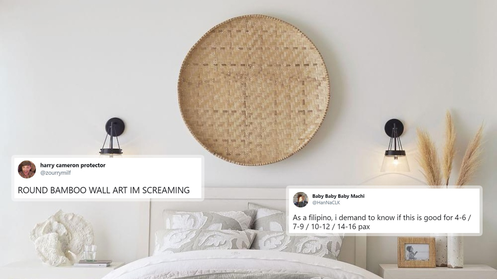Pottery Barn Is Selling Bilao Wall Decor for P15,000 and the Internet Is So Confused