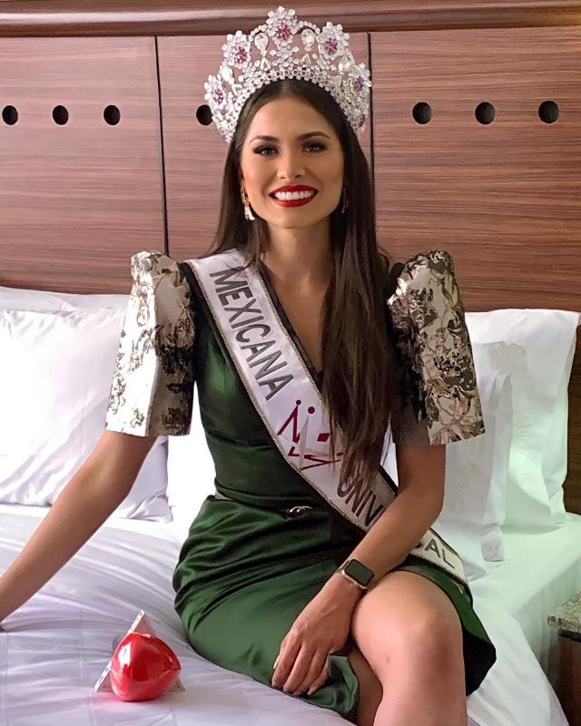 andrea meza miss universe 2020 wears a filipino terno