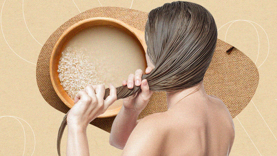 Here's How Rice Water Can Give You Stronger, Shinier Hair