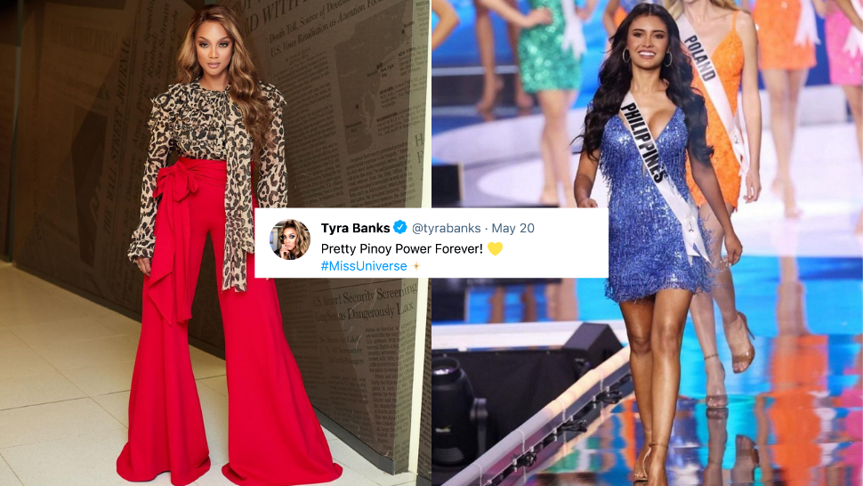 Tyra Banks Herself is Cheering For the Philippines' Miss Universe Track Record