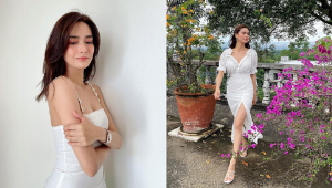 Erich Gonzales Is Proof That White Outfits Will Always Look Fresh No Matter What