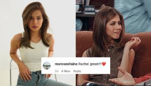 The Internet Thinks Maris Racal Looks A Lot Like Rachel From