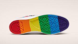 Converse Is Celebrating Pride Month With These Dazzling Rainbow Sneakers, And We Want Everything