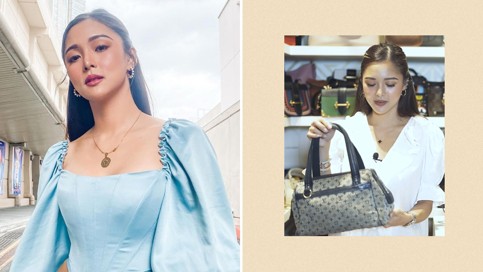 Did You Know? Kim Chiu's First Designer Bag Was A Secondhand Louis Vuitton