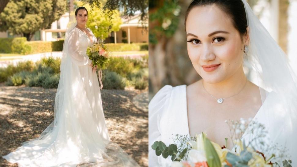 Melissa Ricks' Minimalist Bridal Look Is Proof That Less Is More