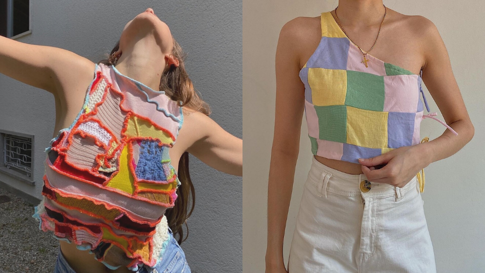 Here's Where You Can Get Those Trendy Patchwork Tops You've Been Seeing All Over Instagram