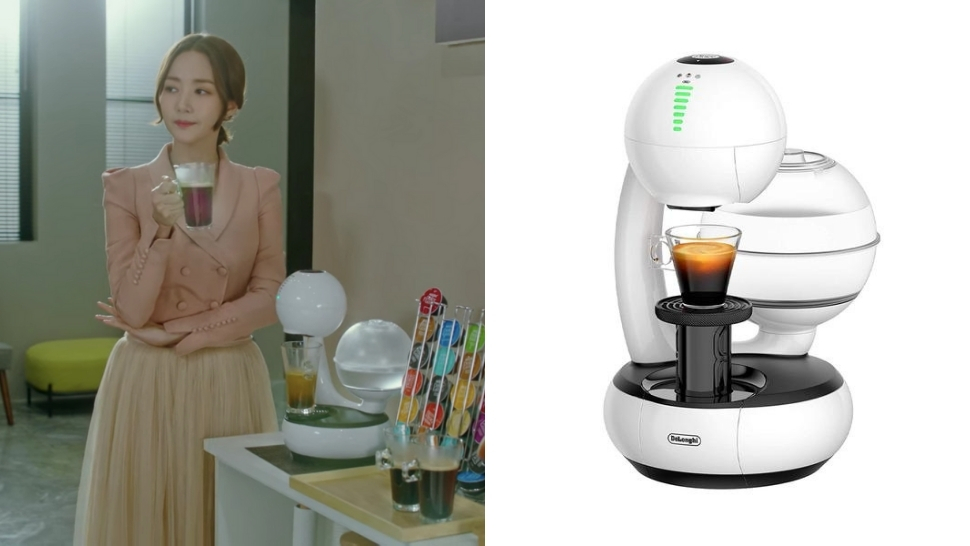 exact coffee machines in k-drama her private life
