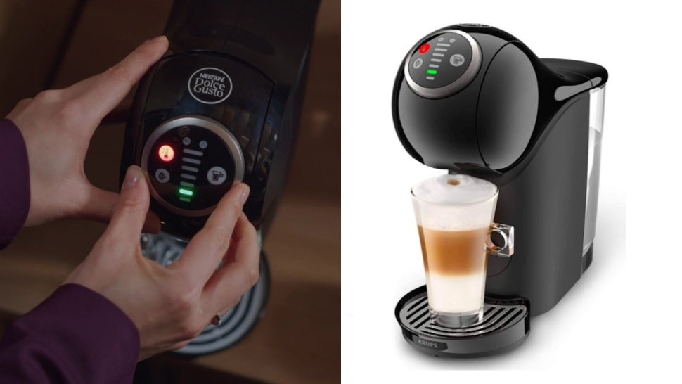 exact coffee machines in k-drama vincenzo