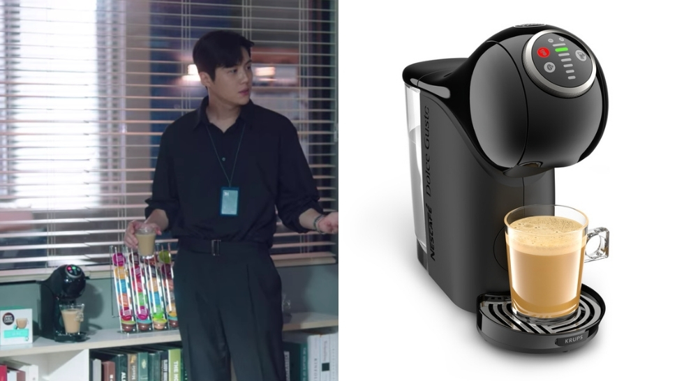 exact coffee machines in k-drama start-up kim seon heo