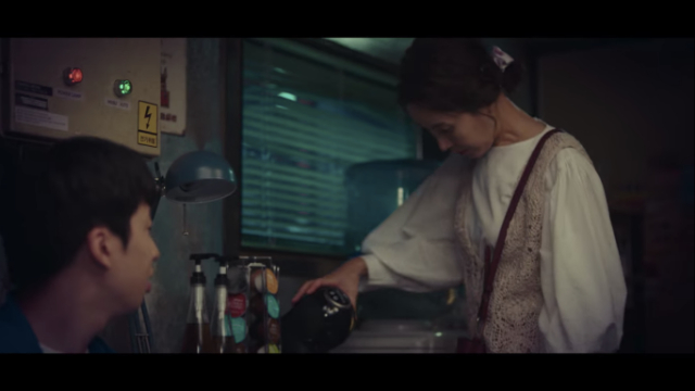 exact coffee machines in k-drama start-up nm joo hyuk