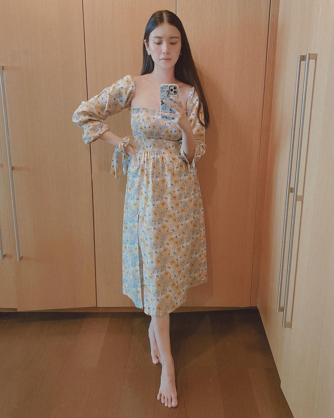 floral dress ootds by tricia gosingtian