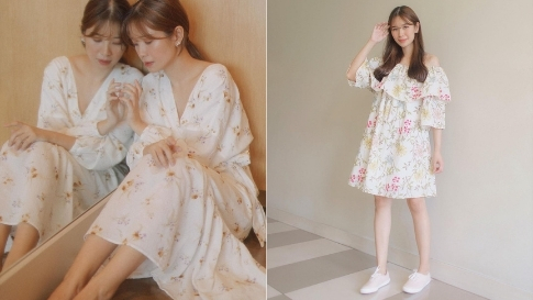 10 Tricia Gosingtian Ootds That Prove We All Need A Floral Dress In Our Closets