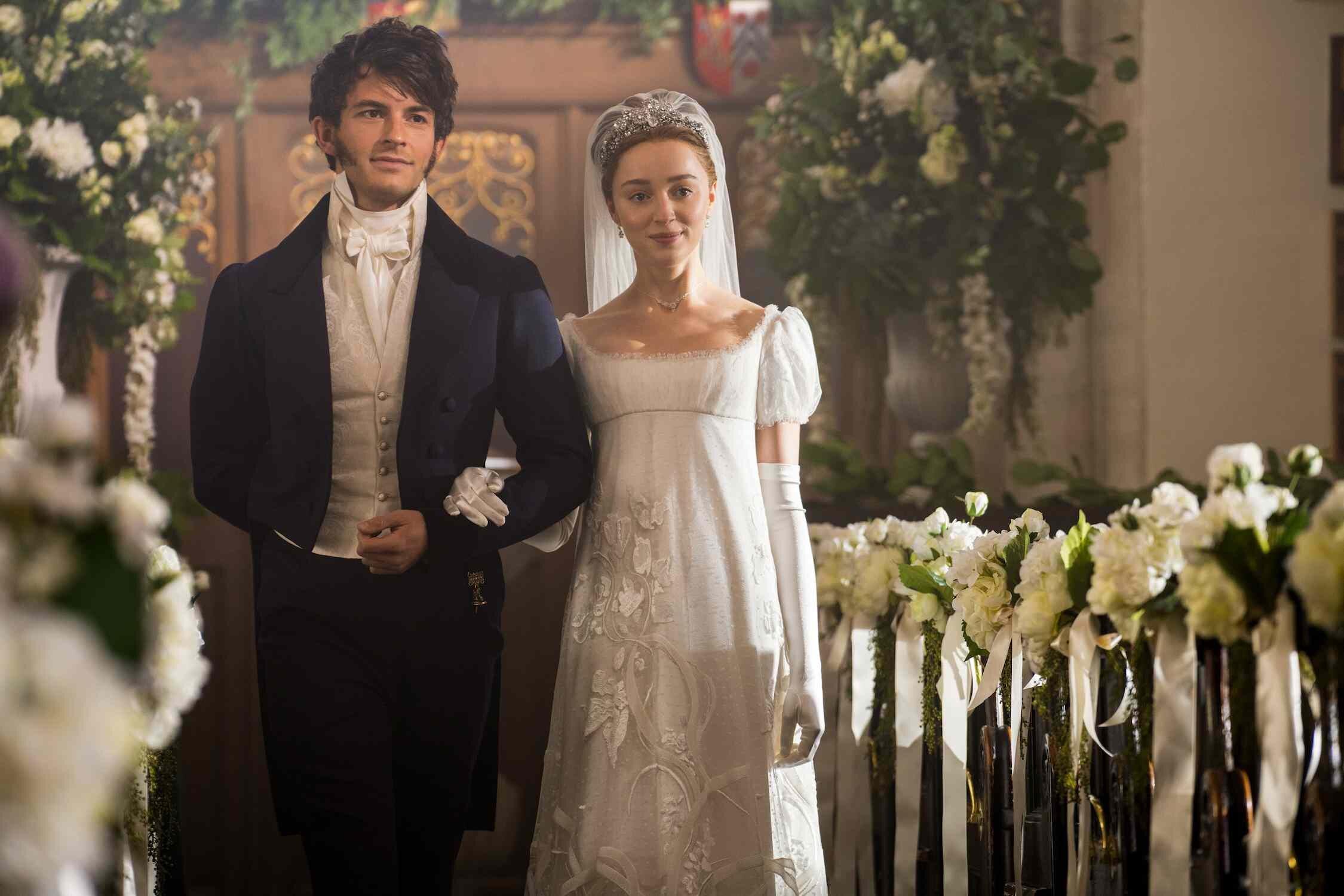 wedding inspiration from bridgerton