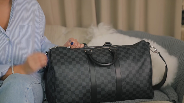 kathryn bernardo exact louis vuitton work bag