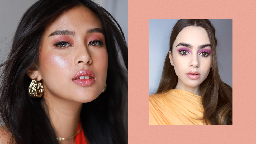 10 Pretty Pink Eyeshadow Looks To Try If You're Tired Of Neutral Tones