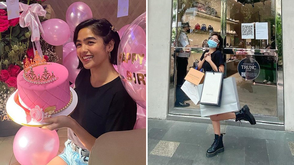 We're In Love With The Designer Pieces Andrea Brillantes Got On Her Birthday Shopping Spree