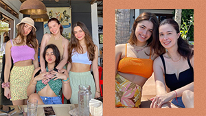 We Love Sunshine Cruz And Her Daughters' Perfectly Coordinated Beach Ootds