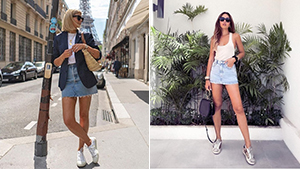 15 Denim Skirt Outfit Combinations For When You Have 'nothing To Wear'