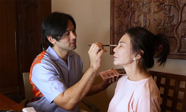 hayden kho does vicki belo's makeup