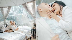 Kris Bernal Wore A White Pantsuit To Her Glamping-inspired Prenup Shoot And She Looks Super Chic