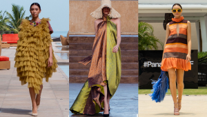 Color Blocking, Contrasting Fabrics, And Cutouts Dominate Pmff 2021