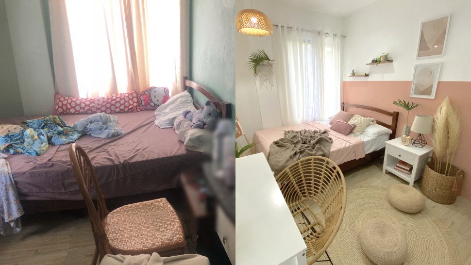 korean style bedroom makeover