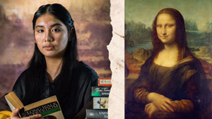 This College Thesis Is Going Viral For Recreating Classic Art With Unconventional Muses