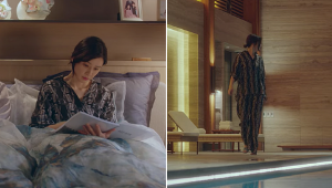 Lee Bo Young's Pajamas In